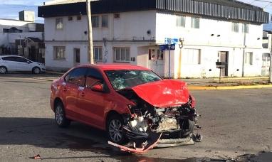 Tierra del Fuego: Hijo de ex legislador protagoniza violento choque en Río Grande y termina detenido