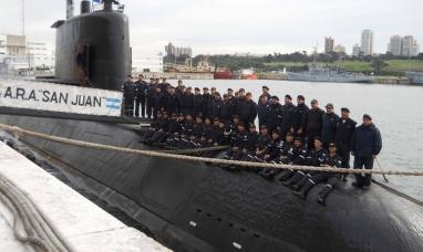 """Tierra del Fuego: Homenaje a la tripulación del submarino """"ARA"""" San Juan, a un año de su desaparición"""