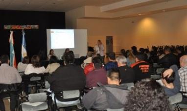 Tierra del Fuego: La IGJ brindó sendas capacitaciones a asociaciones civiles