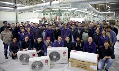 Tierra del Fuego: Importante empresa  comenzó a fabricar acondicionadores de aire LG