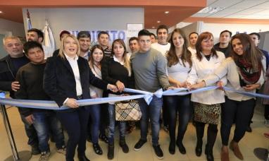 Tierra del Fuego: Se inauguró el laboratorio de la unión de obreros y empleados plásticos