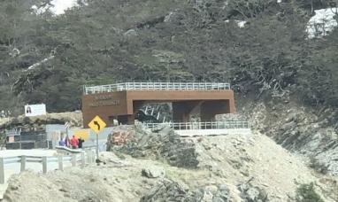 Tierra del Fuego: Inauguran el nuevo mirador del paso Garibaldi
