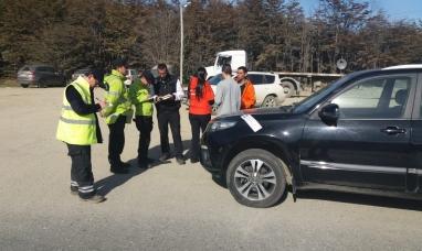 Tierra del Fuego: Incautan un vehículo que realizaba traslados ilegales