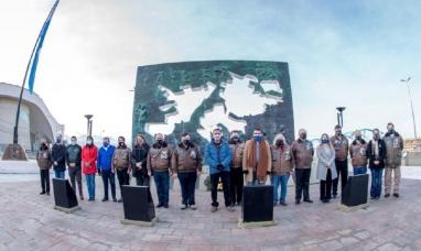 Tierra del Fuego: El día de la Independencia fue celebrado junto a veteranos de Malvinas