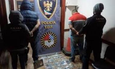 Tierra del Fuego: En el ingreso a Ushuaia detuvieron a dos personas que transportaban cocaína