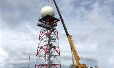 Tierra del Fuego: Se instaló un radar meteorológico