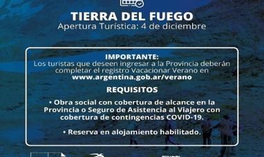 Tierra del Fuego: El instituto de turismo actualiza los requisitos para quienes deseen ingresar a la provincia