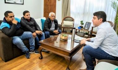 Tierra del Fuego: Intendente de Río Grande recibió a integrantes de la UOCRA