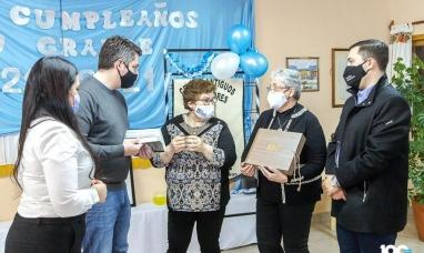 Tierra del Fuego: El intendente de Río Grande recorrió la muestra del centro de antiguos pobladores