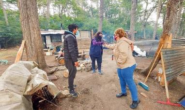 Tierra del Fuego: Intenso trabajo de concientización y control en las zonas de camping en Tolhuin
