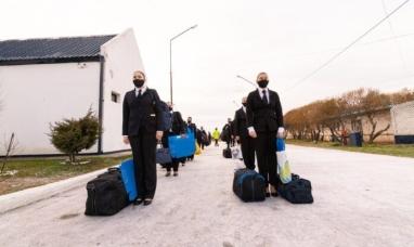 Tierra del Fuego: La jefatura de policía  incorporó a 140 mujeres aspirantes a agentes