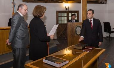 Tierra del Fuego: Juró el abogado Federico Vidal como juez de instrucción