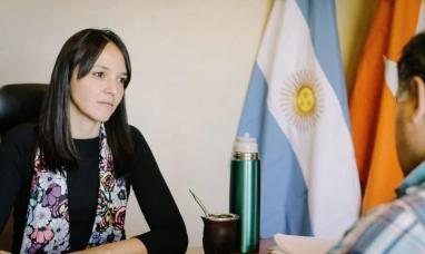 """Tierra del Fuego: Legisladora del """"Partido verde"""" se solidarizó con los empleados de gobierno"""