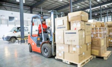 Tierra del Fuego: Llegó el cargamento con insumos y equipamiento sanitario adquiridos por el municipio de Río Grande