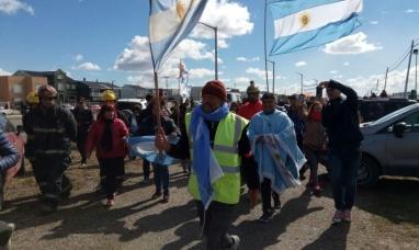 """Tierra del Fuego: Llegó a  Río Grande """"El mejor jefe del país"""" Estamos en una de las provincias que con la basura no tenemos muchas cosas buenas para contar"""