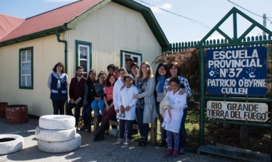 """Tierra del Fuego: """"Malvinas en tu escuela"""", llegó a los establecimientos educativos rurales"""