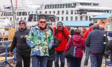 Tierra del Fuego: Miles de turistas recorrieron Ushuaia este fin de semana
