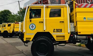 Tierra del Fuego: Ministerio de ambiente de nación otorgó una autobomba para combatir incendios forestales