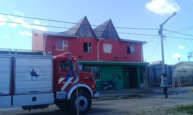 Tierra del Fuego: Momentos de desesperación se vivieron durante un incendio en el que un hombre perdió la vida