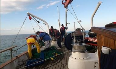 Tierra del Fuego: El motovelero Houssay regresó de una exitosa campaña científica