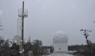 """Tierra del Fuego: Nueva estación terrena, """"Con estas antenas la provincia es parte de la actividad aeroespacial"""""""