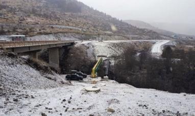 """Tierra del Fuego: Nuevo intento de suicidio en el famoso """"Puente amarillo"""" de Ushuaia"""