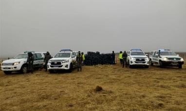 Tierra del Fuego: Personal de gendarmería incautó 24 mil paquetes de cigarrillos en un sector fronterizo ilegal