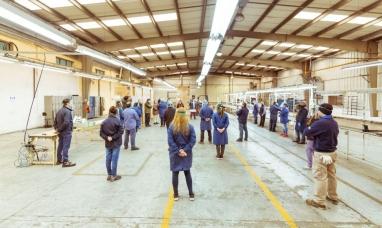 Tierra del Fuego: La planta Audivic vuelve a producir en Río Grande