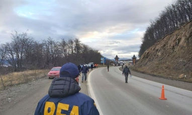 Tierra del Fuego: La policía federal realizó operativo conjunto de control