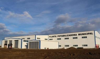 Tierra del Fuego: Preocupación en el gobierno por la falta de regularización de la nueva planta potabilizadora de agua
