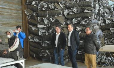 Tierra del Fuego: Primera exportación de turba industrializada