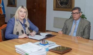 """Tierra del Fuego: """"Quiero una administración ordenada y honesta"""" dijo la gobernadora"""