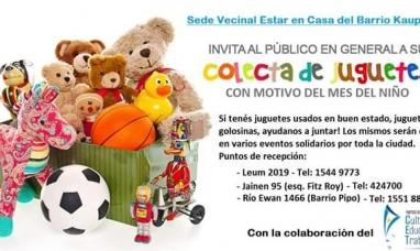 """Tierra del Fuego: Realizan en Ushuaia una juntada de juguetes por el """"Día del niño"""""""