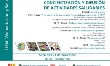 Tierra del Fuego: Se realizará la segunda jornada de concientización y difusión de actividades saludables