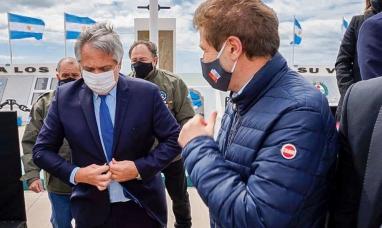 """Tierra del Fuego: """"Recibir al presidente es algo muy especial para todos"""" dijo el gobernador"""