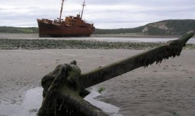 """Tierra del Fuego: Roban ancla y cadenas del histórico barco """"Desdémona"""""""