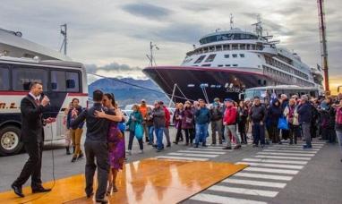 Tierra del Fuego: Seis mil turistas arribaron al puerto de Ushuaia