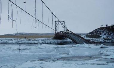 Tierra del Fuego: Senadora y diputado  gestionan la reconstrucción del puente histórico de Río Grande