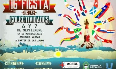 """Tierra del Fuego: En setiembre llega la """"Fiesta de las colectividades"""""""