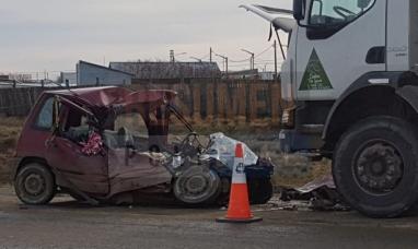 Tierra del Fuego: Siniestro automotor en Río Grande, falleció joven trabajadora