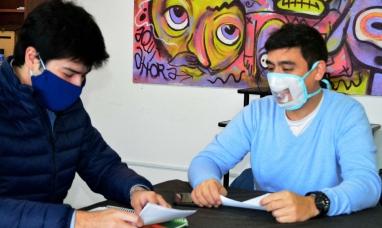 Tierra del Fuego: Sub secretaría de juventud acompaña proyecto documental sobre Malvinas