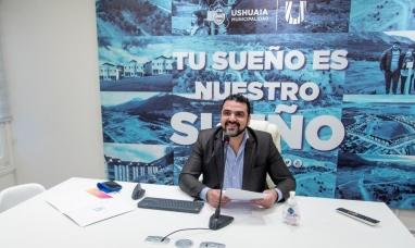 """Tierra del Fuego: """"Tenemos el desafío de construir 1600 viviendas en los próximos años"""" dijo intendente de Ushuaia"""