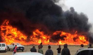 Tierra del Fuego: Si tener ninguna culpa, fueron despedidos 18 trabajadores de fábrica que se incendió