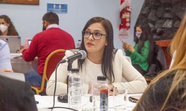Tierra del Fuego: La titular del OSEF pasó por la legislatura para presentar el presupuesto 2021
