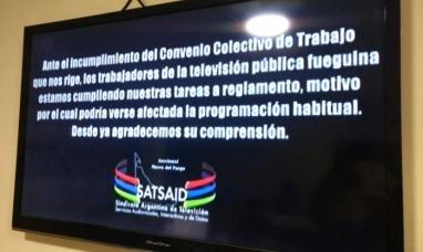 Tierra del Fuego: Trabajadores del SAT-SAID repudian publicación de medio gráfico provincial