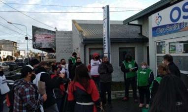 Tierra del Fuego: Trabajadores de la obra social del estado, realizaron una nueva asamblea en la delegación Río Grande