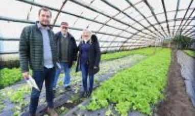 """Tierra del Fuego: """"El trabajo de nuestros productores nos permite consumir alimentos sanos, orgánicos y a buen precio"""" señaló la gobernadora"""