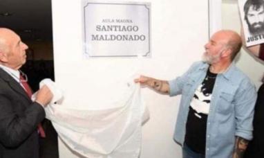 Tierra del Fuego: La UCR promueve que se cambie el nombre del aula magna de la universidad que lleva el nombre de Santiago Maldonado