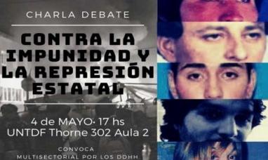 """Tierra del Fuego: Universidad estatal convoca a actividad sobre """"impunidad y represión"""""""