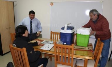 Tierra del Fuego: La UOM entregó al municipio de Río Grande 300 dosis de vacunas antigripales